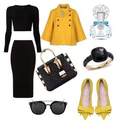 """""""Untitled #692"""" by giselaturca on Polyvore featuring Pomellato, Mat, Cushnie Et Ochs, Jejia, MCM, Vince Camuto, women's clothing, women, female and woman"""