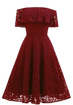High Low Round Neck Lace Homecoming Dresses Party Dresses Prom Dresses Cocktail Dresses Graduation Dresses(ED1870)