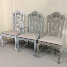 Dining chair makeover using Superior Paint Co. chalk furniture paint in the new Modern Farmhouse paint collection.