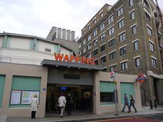 Love, love, love Wapping in London