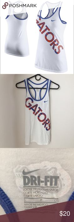 Nike University of Florida Tank Perfect for game day in the Florida heat. Never worn. Nike Tops Tank Tops