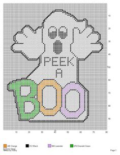 GHOST (PERK A BOO) by KATHY