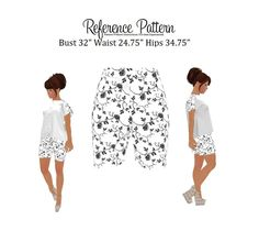 """shorts bust 32"""" Diy Shorts, Sewing Shorts, Sewing Patterns, Creative, Clothes, Cleaning, D Day, Shorts Tights, Outfits"""