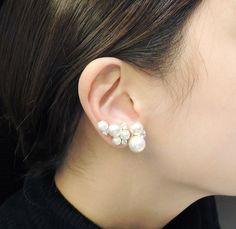 Pearl Ear Clip