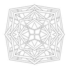 Coloring Mandalas: Mirrors