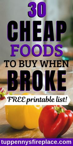 An essential and helpful list of healthy cheap foods to buy when you've got little money. And bonus 12 easy dinner recipes suggestions to use these cheap foods. Cheap foods for two, families and vegetarian to keep to a tight budget. Frugal foods to buy wh Dinner Recipes Easy Quick, Easy Healthy Dinners, Quick Easy Meals, Vegetarian Grocery Lists, Cheap Grocery List, Frugal Meals, Budget Meals, Groceries Budget, Budget Cooking
