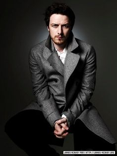 James McAvoy - Not my usually sort of fellow, but he is an excellent actor and I absolutely LOVE his accent. I wonder if he's narrated any audio books. Hmm...