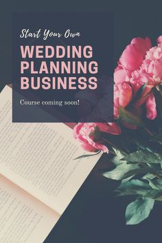 Thinking of starting your own wedding planning business? Not sure where to start? Online course coming soon--   How to Start Your Own Wedding Planning Business.