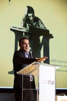 Así han transcurrido las primeras horas de 3 días de festival de periodismo, que se desarrollan en Medellín como homenaje al Maestro Gabo.   Foto: David Estrada Larrañeta/FNPI.