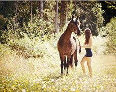 I adore this picture. A girl and her horse <3 Loved every minute of this shoot!