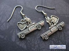 Supernatural I Love The Metallicar Earrings by AngelQ on Etsy, $5.95