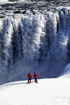 Skiing Iceland