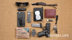 46 Everyday Carry Items in 3 Different Setups