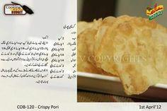 P Cooking Recipes In Urdu, Chef Recipes, Vegetarian Recipes, Masala Tv Recipe, Roti Recipe, Urdu Recipe, Paratha Recipes, Tea Time Snacks, Desi Food