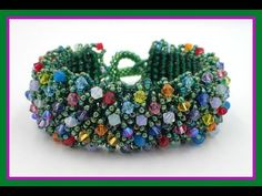 Best Seed Bead Jewelry 2017 Magic Carpet Bracelet from Offthebeadedpath Seed Bead Tutorials Seed Bead Tutorials, Beading Tutorials, Beading Patterns, Seed Bead Jewelry, Seed Beads, Beaded Jewelry, Beaded Bead, Jewellery, Bead Weaving
