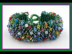Magic Carpet Bracelet from Offthebeadedpath ~ Seed Bead Tutorials