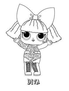 pin de miciulyte en piešiniai spalvinimui  lol dolls coloring pages y doodle coloring