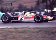 Mario Andretti Watkins Glen 1968 Lotus 49 . . first F-1 race