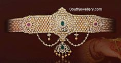 Indian Bridal Jewelry Sets, Indian Jewellery Design, Latest Jewellery, Wedding Jewelry, Jewelry Design, India Jewelry, Temple Jewellery, Diamond Jewelry, Silver Jewelry