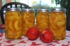 Joanne's Peach Pie filling