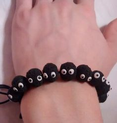 Soot Sprite Bracelet | 47 Insanely Adorable Studio Ghibli Items You Need Immediately