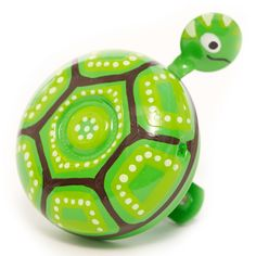 A tortoise bicycle bell! Kids Bike Accessories, Mother Dearest, Bicycle Bell, Tortoise Turtle, Cycle Chic, Frog And Toad, Tortoises, Diy For Kids, Gifts For Friends