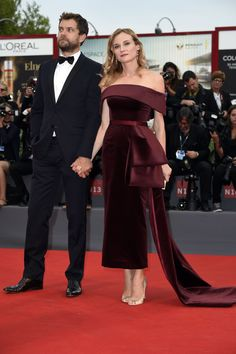 See All the Stars at the 72nd Venice Film Festival - Diane Kruger and Joshua Jackon (Photo: Rex USA)