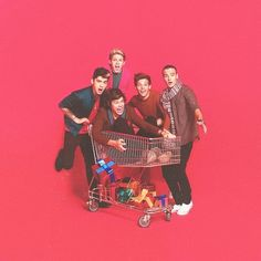 One Direction   Christmas Photo shoot