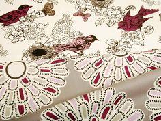Textile designs by Thomas Paul