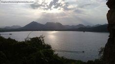 Fateh Sagar Lake From Moti Magri