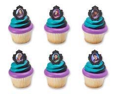 Descendants 2 Rebel Attitude Cupake Rings Cupcakes (sku: 21528C)