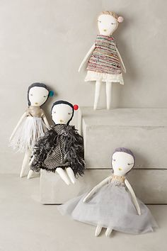 Hand-Stitched Rag Doll