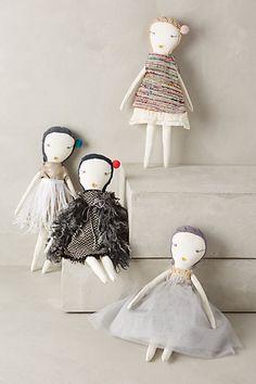 Hand-Stitched Rag Doll