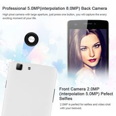 2015 Newest CUBOT X12 5.0'' IPS Android 5.1 (Lollipop) Unlocked LTE 4G Smartphone -- MTK6735 Quad Core 1GB RAM 8GB ROM Dual SIM Cellphone IR Remote Control OTG GPS Dual Cameras 3G SIM-Free Phablet (White): Amazon.co.uk: Electronics