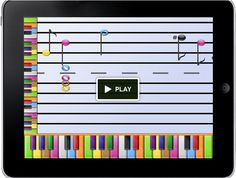 Kickstarter: Back Piano Wizard for iPad and Learn to Play Piano