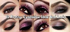 Top 10 Pretty Eyeshadow Ideas And Looks – Step By Step Videos