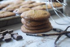 Cardamom Spiced Chocolate Chip Cookies – Castaway Kitchen