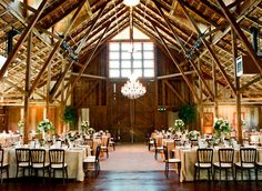 I hugely want to get married in a barn, if I found one I'd throw away the destination wedding in a second.