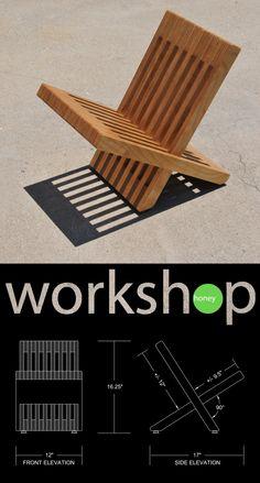 Handmade Birch Magazine / Book Stand by WorkshopHoney on Etsy