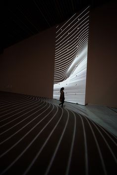 reIMG_2679 Light Art Installation, Artistic Installation, Video Installation, Display Design, Design Art, Light And Space, Design Museum, Conceptual Art, Art Gallery