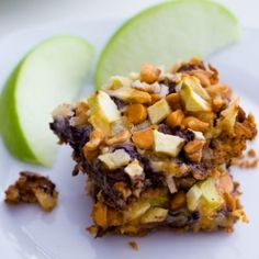 {Apple Butterscotch 7 Layer Magic Bars by Sallys Baking Addiction} Just Desserts, Delicious Desserts, Dessert Recipes, Yummy Food, Fall Recipes, Sweet Recipes, Apple Recipes, Yummy Treats, Sweet Treats