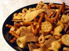 Christmas Nuts N Bolts Snack Recipe - Genius Kitchensparklesparkle