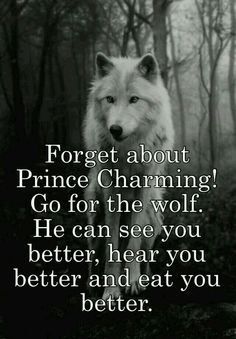 No doubt he's got all the charm.........A Lone Wolf!!!
