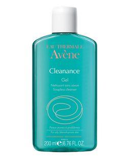 Avene Cleanance Soapless Gel Cleanser: http://www.beauco.co/product/skincare/avene/avene-cleanance-soapless-gel-cleanser-200ml/