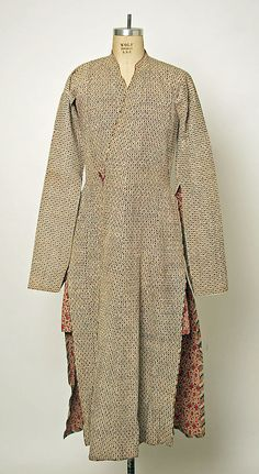 Coat Liberty & Co.  (British, founded London, 1875) Date: 19th century Culture: Iranian Medium: cotton Dimensions: Length: 54 in. (137.2 cm)