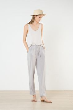 Shop new women's bottoms from OAK + FORT. Find pants, Maxi Skirts, and Culottes to update your wardrobe. Oak And Fort, Jumpsuit, Legs, Women's Bottoms, Skirts, How To Wear, Pants, Clothes, Shopping