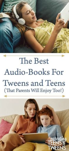 The Best Audio-Books For Tweens and Teens (That Parents Will Enjoy Too! Parenting Articles, Parenting Books, Parenting Teens, Parenting Quotes, Book Club Books, Good Books, High School Reading, Books For Tweens, Best Audiobooks
