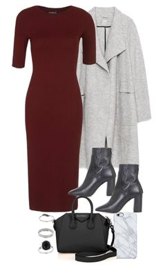 """Untitled #10744"" by theleatherlook ❤ liked on Polyvore featuring moda, Uncommon, Zara, Topshop, Givenchy e Miss Selfridge"