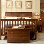 Prarie Mission Storage Bedroom Set - Puritan Furniture- CT.'s Largest Furniture Store- 5 Acres!