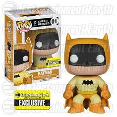 Batman 75th Yellow Rainbow Batman Pop! Vinyl - EE Exclusive - Funko - Batman - Pop! Vinyl Figures at Entertainment Earth